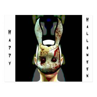 Evil Rabbit Postcard
