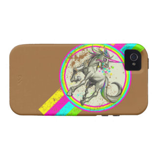 evil rabid unicorn with rabies vibe iPhone 4 covers