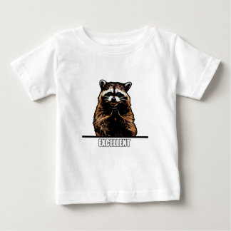 Evil Raccoon Baby T-Shirt