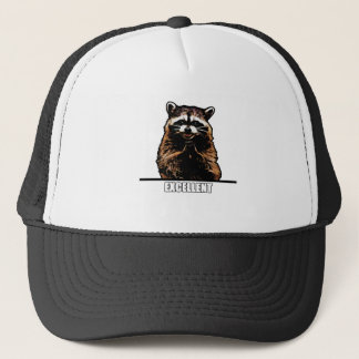 Evil Raccoon Trucker Hat