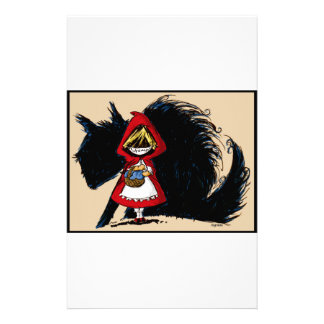 Evil Red Riding Hood Stationery