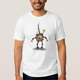 Evil Robo-TV - T-shirt
