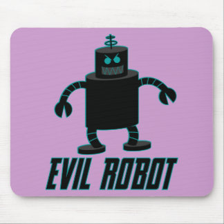 Evil Robot Mouse Pad