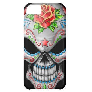 Evil Rose Sugar Skull iPhone 5C Case