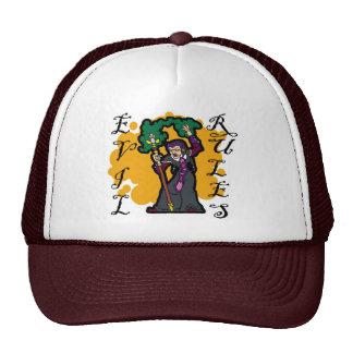 Evil Rules Trucker Hat