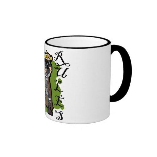 Evil Rules Coffee Mug