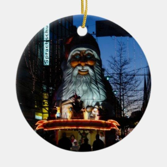 Evil Santa - Hamburg Germany Christmas Ornament