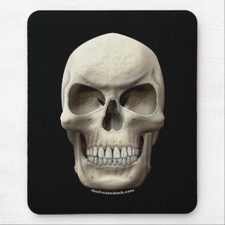 Evil Skull Mouse Pad