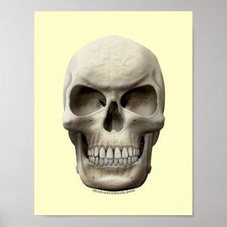 Evil Skull Poster