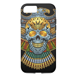 Evil Skull with Guns and Bullets by Al Rio iPhone 7 Case