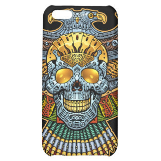 Evil Skull with Guns and Bullets by Al Rio Case For iPhone 5C