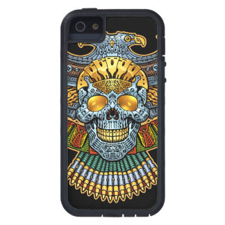 Evil Skull with Guns and Bullets by Al Rio Tough Xtreme iPhone 5 Case