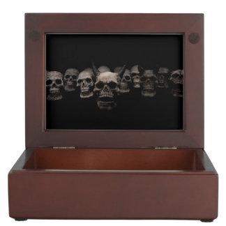 Evil Skulls Keepsake Box
