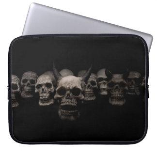 Evil Skulls Laptop Sleeve