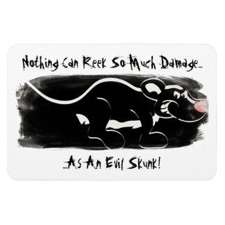 Evil Skunk Regrigerator Magnet