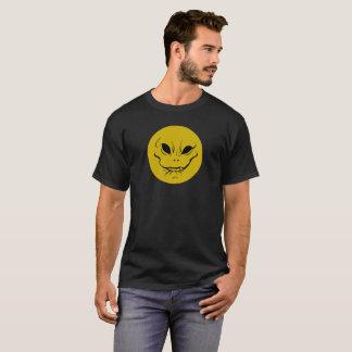 Evil Smiely Anticipation Face T-shirt