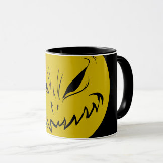 Evil Smiely Grinning Face Mug V2