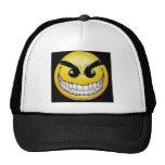 Evil Smiley face Trucker Hat