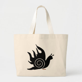 Evil Snail Tote Bags