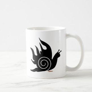 Evil Snail Basic White Mug
