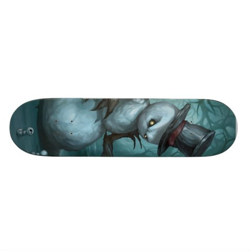 Evil Snowman Skateboard