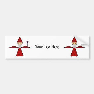 Evil Stick Wizard Car Bumper Sticker