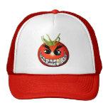 Evil Tomato Smiley Cap