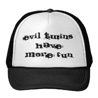 evil twins have more fun cap
