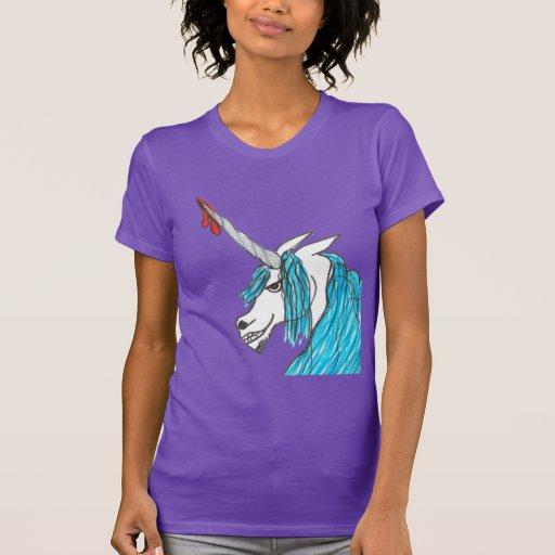 evil unicorn t-shirts