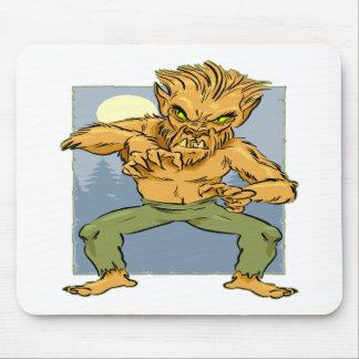 Evil Werewolf Mousepads