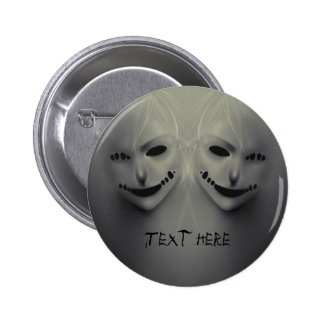 Evil whispers pin