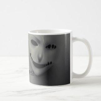 Evil whispers basic white mug