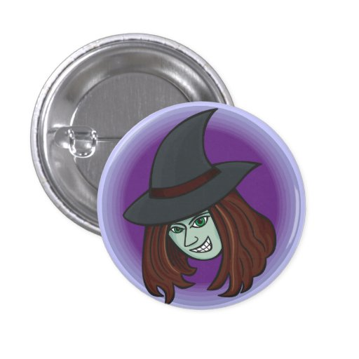 Evil Witch Button