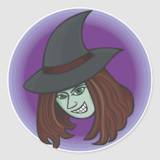 Evil Witch Stickers