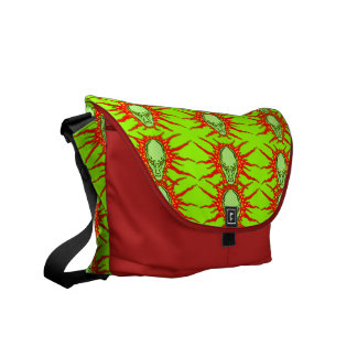 Evil Wizard Messenger Bag