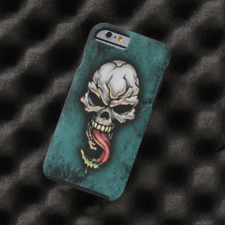 Evil Zombie Skull Fantasy Tattoo Design Tough iPhone 6 Case