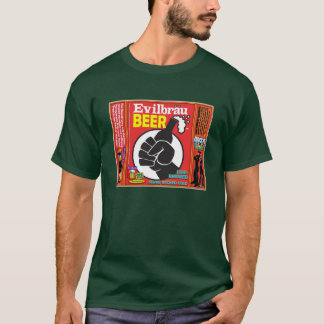 Evilbrau Beer Fist Detail T-Shirt