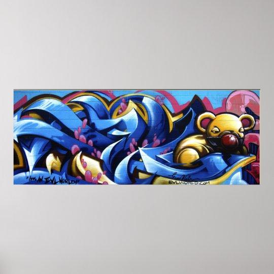 EVL LA Wall Poster