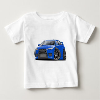 Evo Blue Car Baby T-Shirt