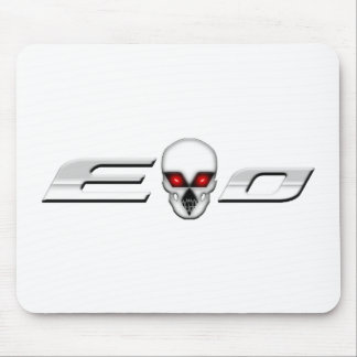 Evo with Skull Mousepad
