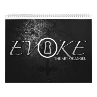 Evoke, the art of angel illustrations wall calendars