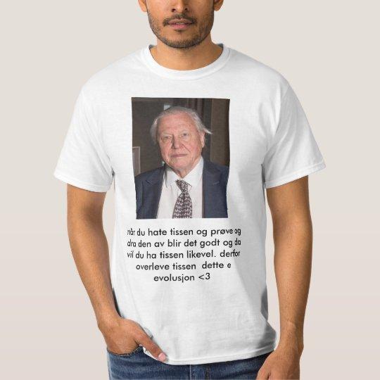 Evolusjons tskjorte T-Shirt