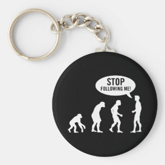 evolution2 basic round button key ring