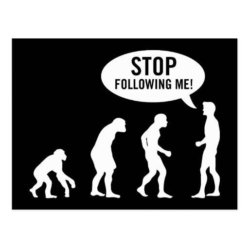 evolution2 postcard