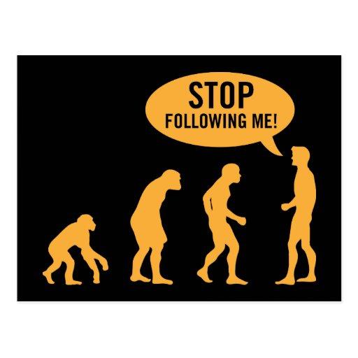 evolution3 post card