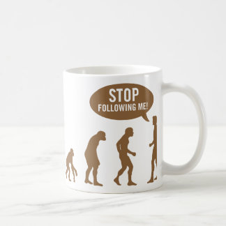 evolution4 coffee mug