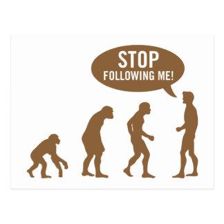 evolution4 postcard