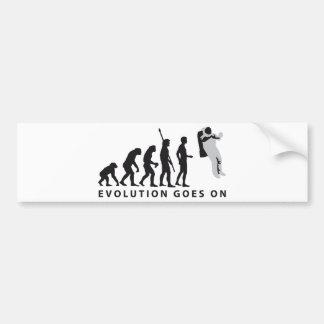 evolution astronaut bumper sticker