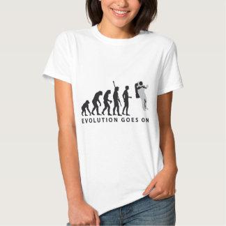 evolution astronaut tshirt