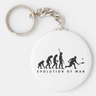 evolution badminton schlüsselanhänger